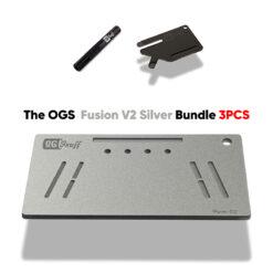 The OGS Fusion V2 Bundle 3PCS Silver Glitter