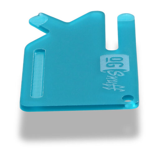 Multi Tool OGS Card Frosted Teal Side