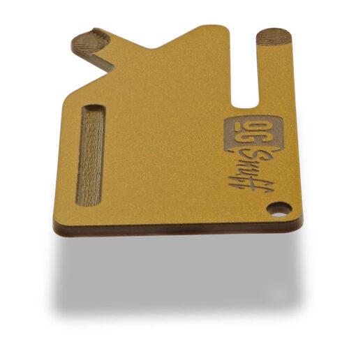 Multi Tool OGS Card Gold 2-tone Side