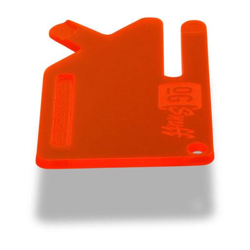 Multi Tool OGS Card Neon UV Red Side
