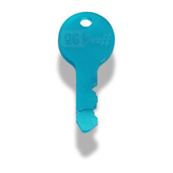 The OGS Key Frosted Teal