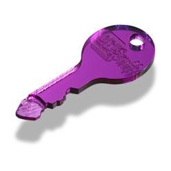 The OGS Key Mirrored Purple