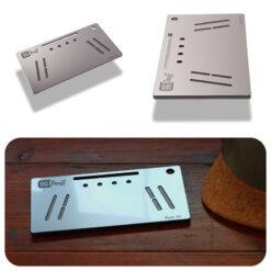 The OGS Fusion V2 Board Metallic Silver