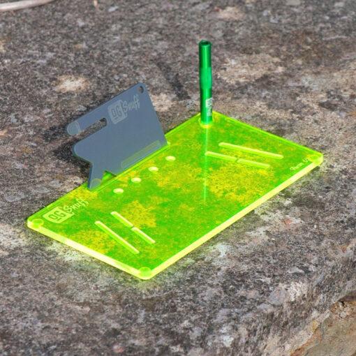 The OGS Fusion V2 Board Neon UV Green