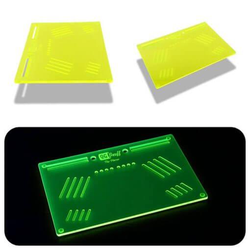 The OGS Platter Neon UV Green