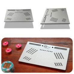 The OGS Platter Board Silver Glitter