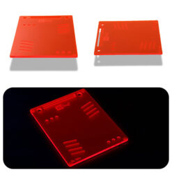 The OGS Tablet Neon UV Red