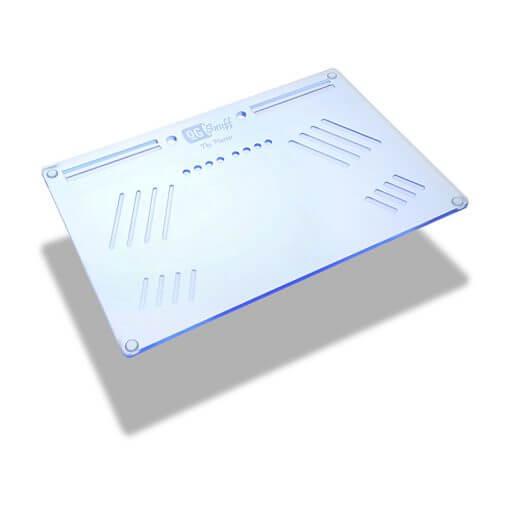 The OGS Platter Board Neon UV Blue