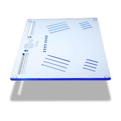 The OGS Platter Board Neon Blue