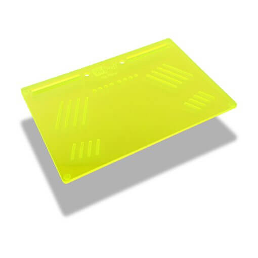 The OGS Platter Board Neon UV Green