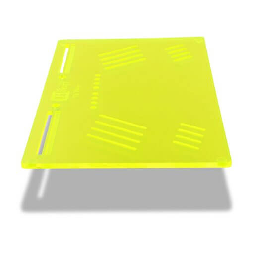 The OGS Platter Board Neon Green