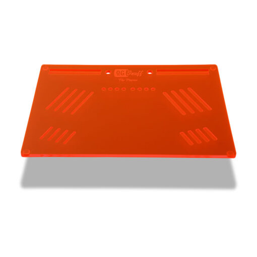 The OGS Platter Board Neon UV Red