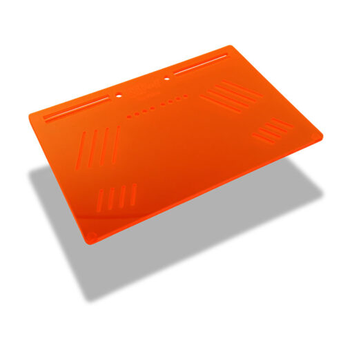 The OGS Platter Board Neon Red