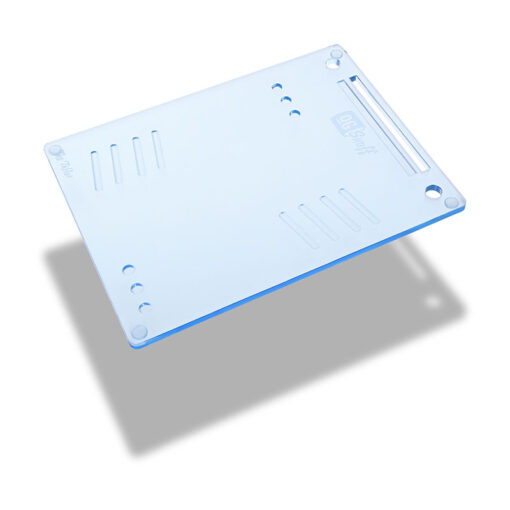 The OGS Tablet Board Neon Blue