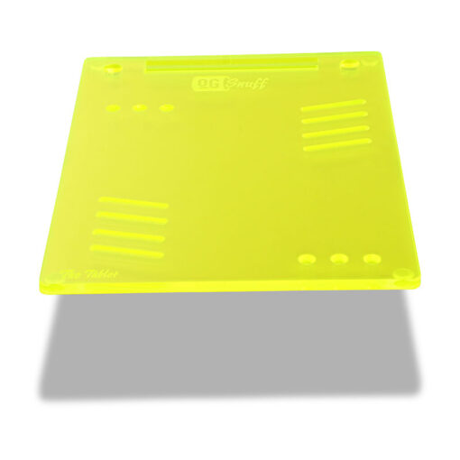 The OGS Tablet Board Neon UV Green