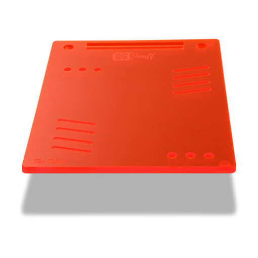 The OGS Tablet Board Neon UV Red