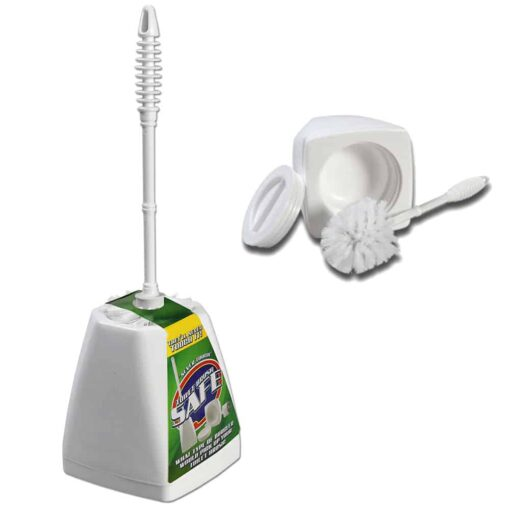 Secret Toilet Brush Storage Double