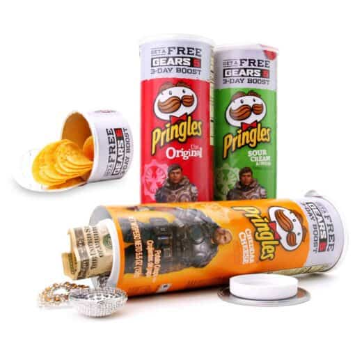 Pringles open chips