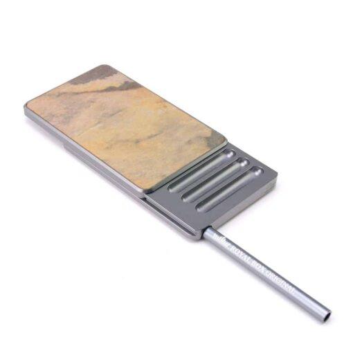 alpha titanium open half