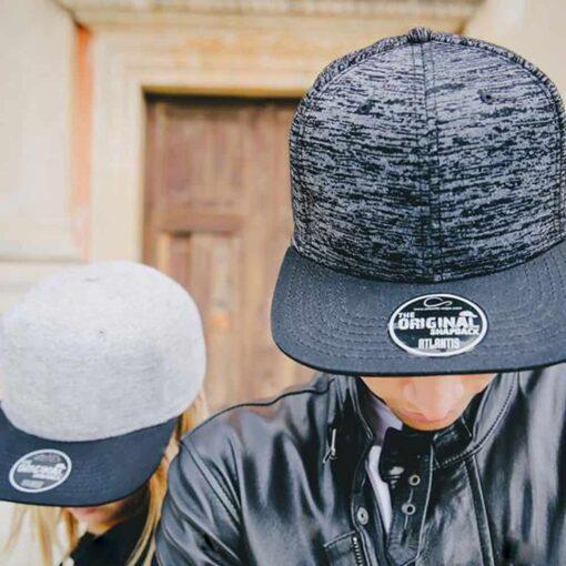 Elegant Snap Unisex Cap Couple
