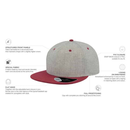 Fade Snap Back Cap
