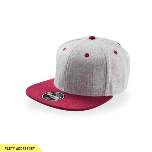 Fade Snap Back Red Cap