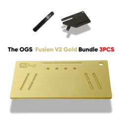 The OGS Fusion V2 Bundle 3PCS Gold