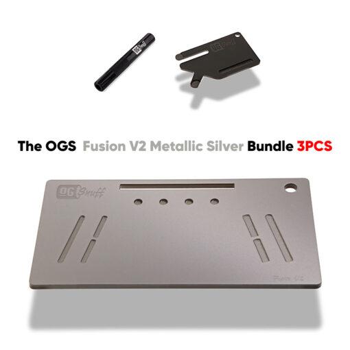 The OGS Fusion V2 Bundle 3PCS Metallic Silver