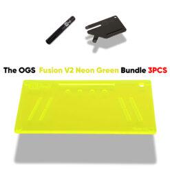 The OGS Fusion V2 Bundle 3PCS Neon UV Green
