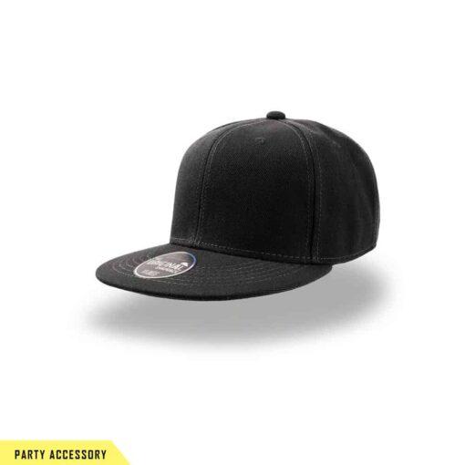 Original Snap Back Black Cap