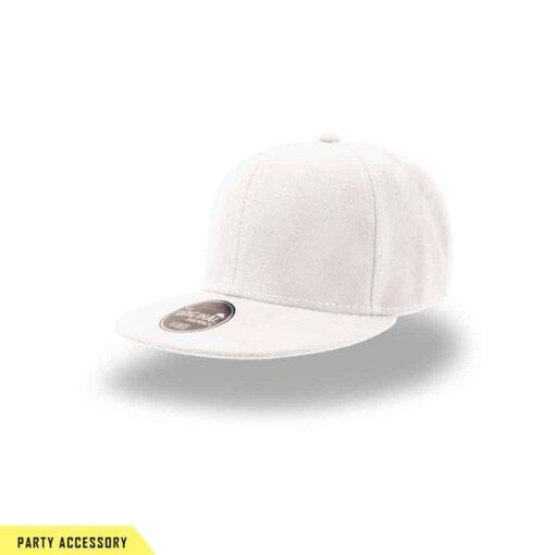 Original Snap Back White Cap