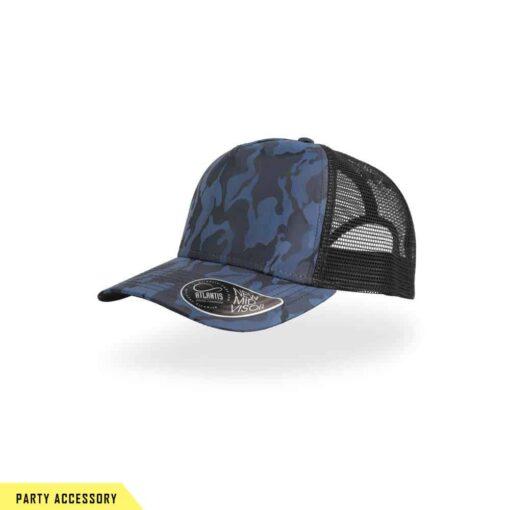 Premium Camouflage Blue Night Cap