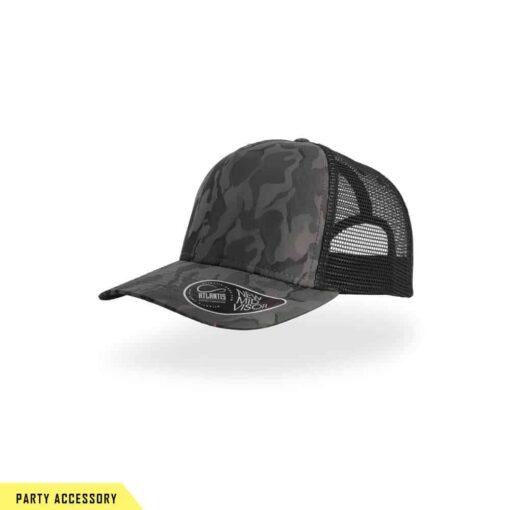 Premium Camouflage Dark Grey Cap