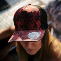 Premium Camouflage Girl Cap