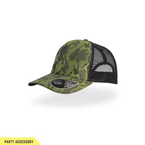 Premium Camouflage Olive Party Cap