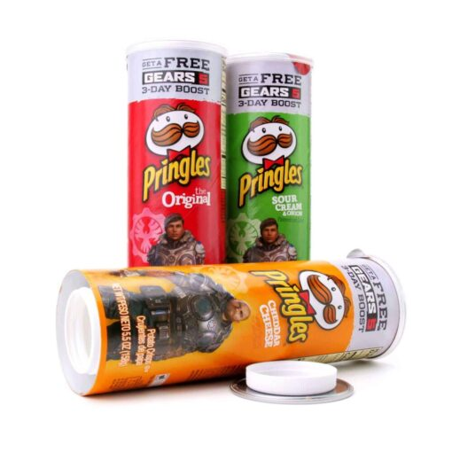 Secret Pringles Hidden Storage Open