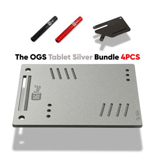 The OGS Tablet Bundle 4PCS Silver Glitter