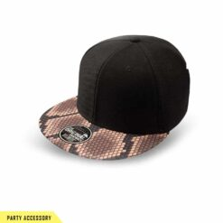 Wide Snap Python Snap Back Cap