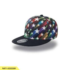Wide Street Star Snap Back Cap